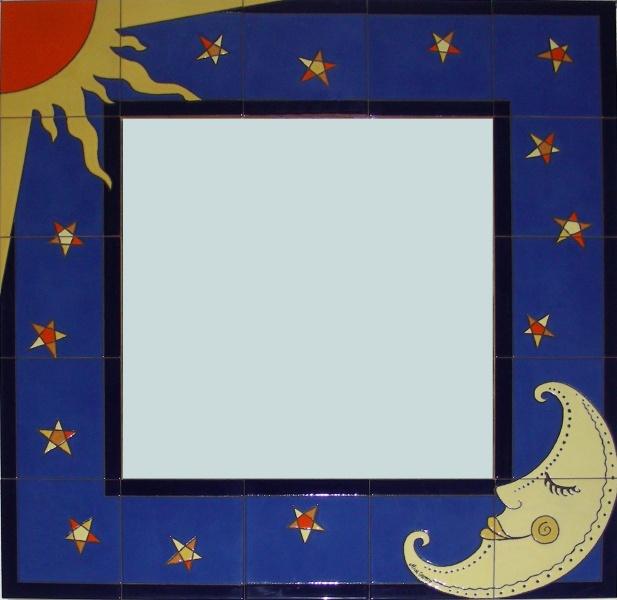Espejos de cer mica murales de cer mica for Espejos murales